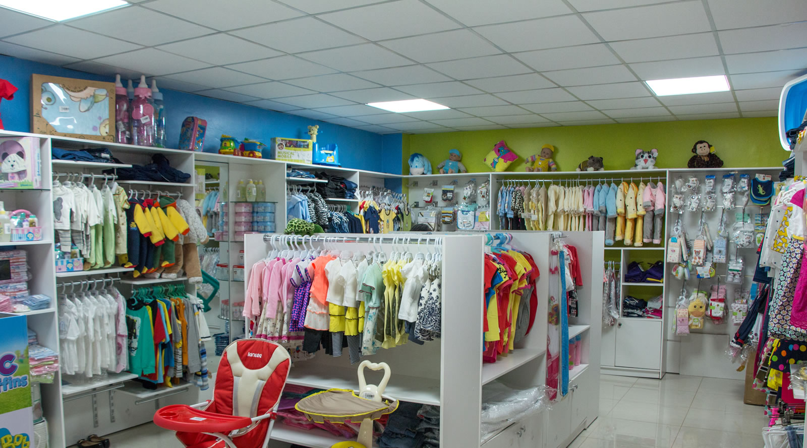 New shops